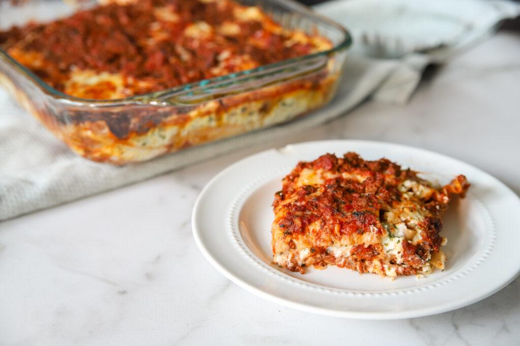Simple, Easy Homemade Lasagna