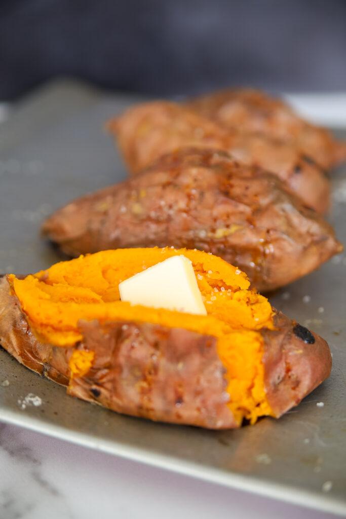 Delicious Baked Sweet Potato