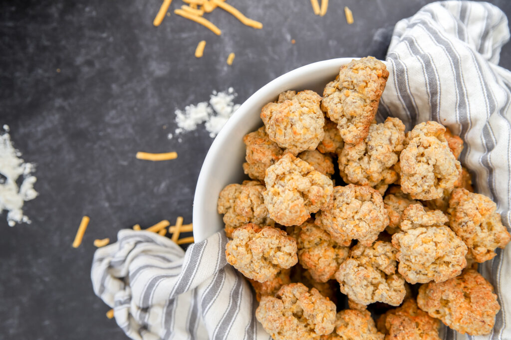 Bisquick Sausage Ball Recipe with Cheese