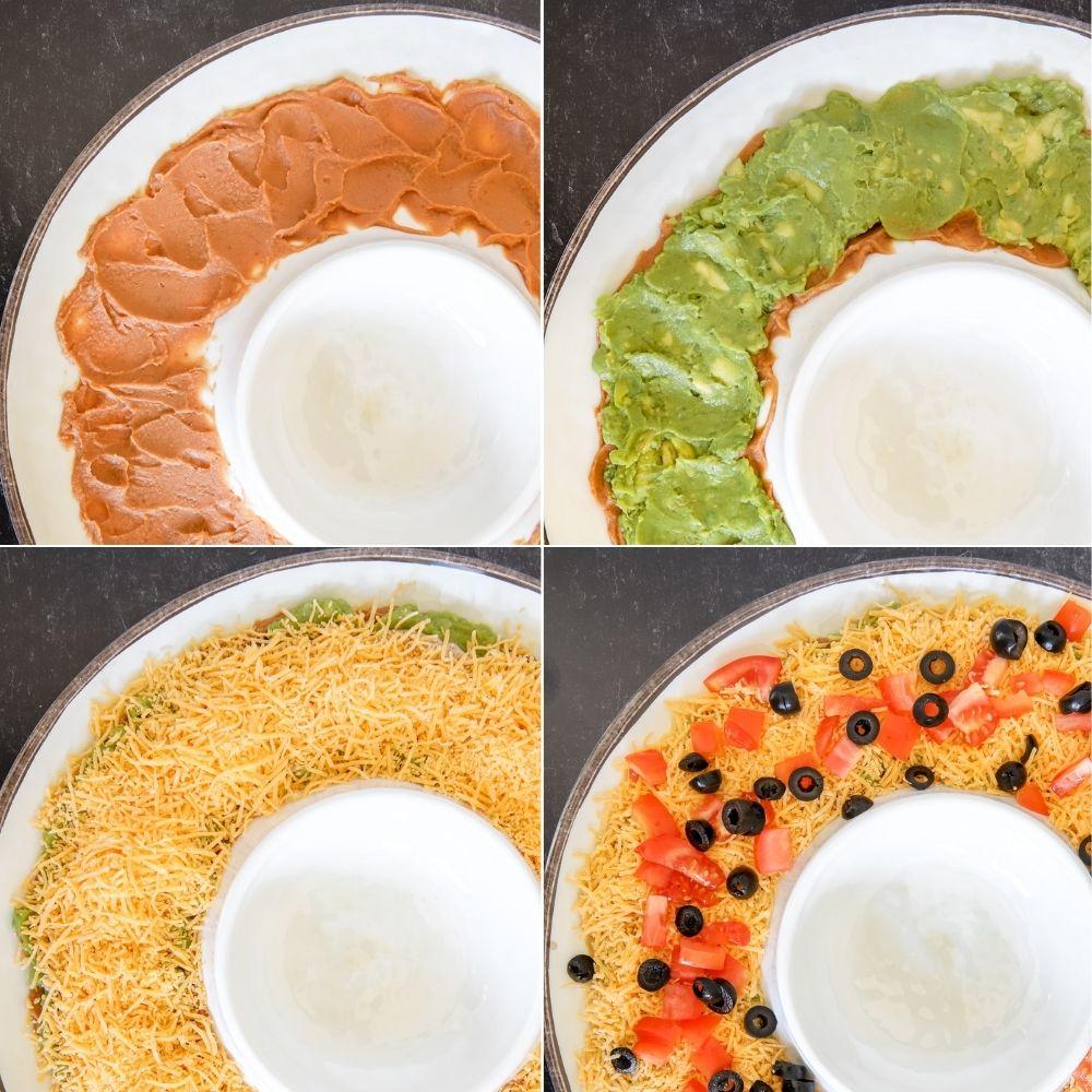5-Layer Mexican Taco Dip
