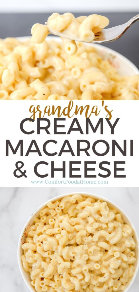 The BEST Creamy Macaroni & Cheese
