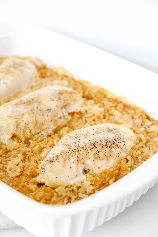 Savory Chicken and Rice Dinner