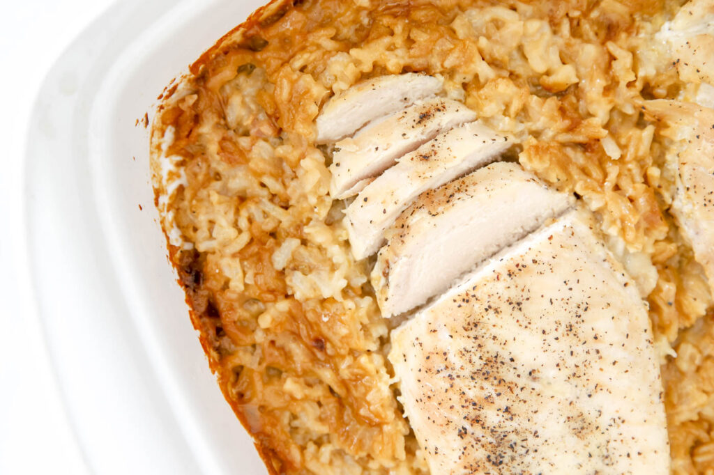 Savory & Easy Chicken and Rice