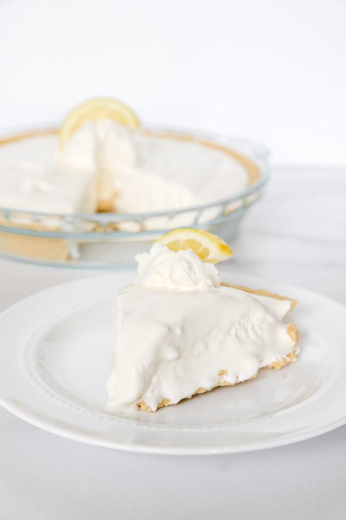 No-Bake Frozen Lemonade Pie