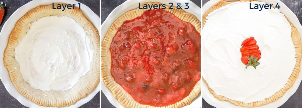 The Layers of Strawberry Pie