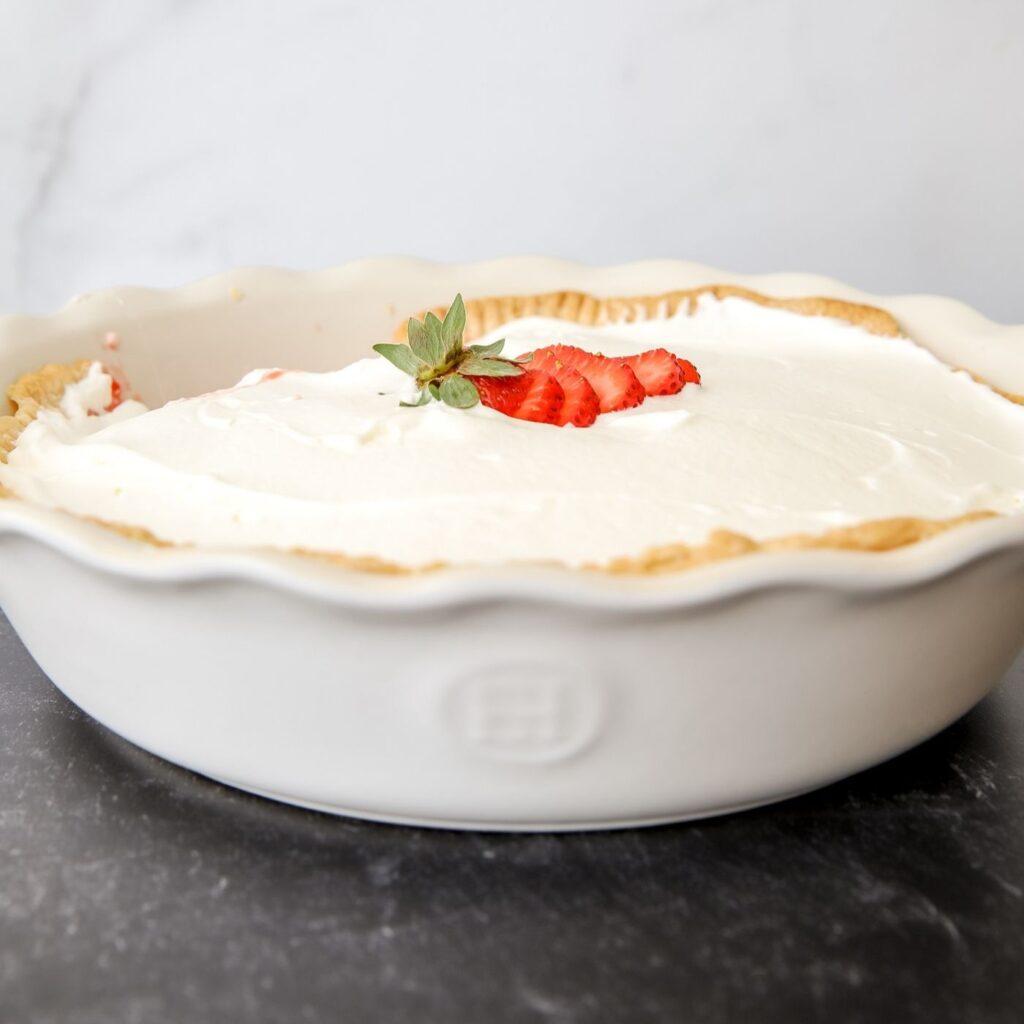 Fresh Homemade Strawberry Pie Recipe