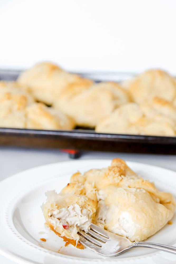 Chicken Crescent Roll Squares Recipe