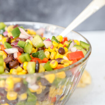 Black Bean Salad with Corn Recipe