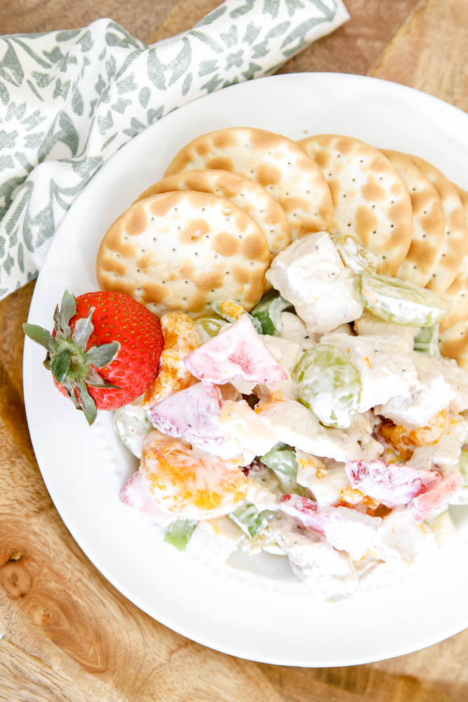 Fruit and Chicken Salad Recipe