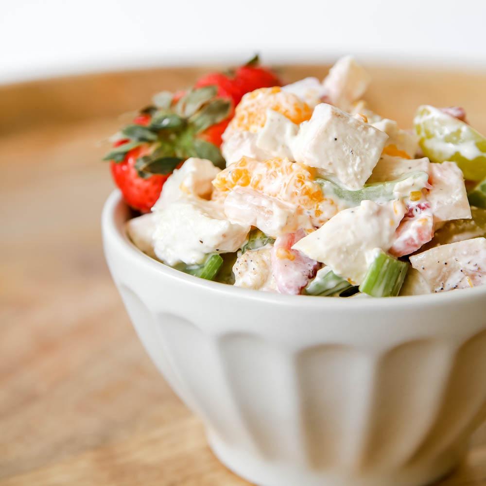 Delicious Fruit & Chicken Salad