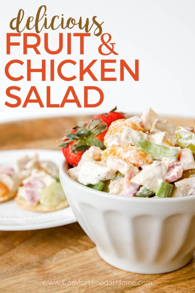 Fruit & Chicken Salad Recipe