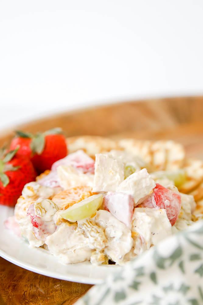 Fruit & Chicken Salad