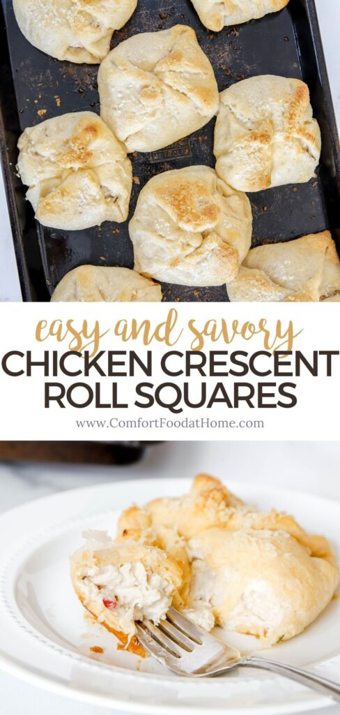 Easy and Savory Chicken Crescent Roll Squares Recipe
