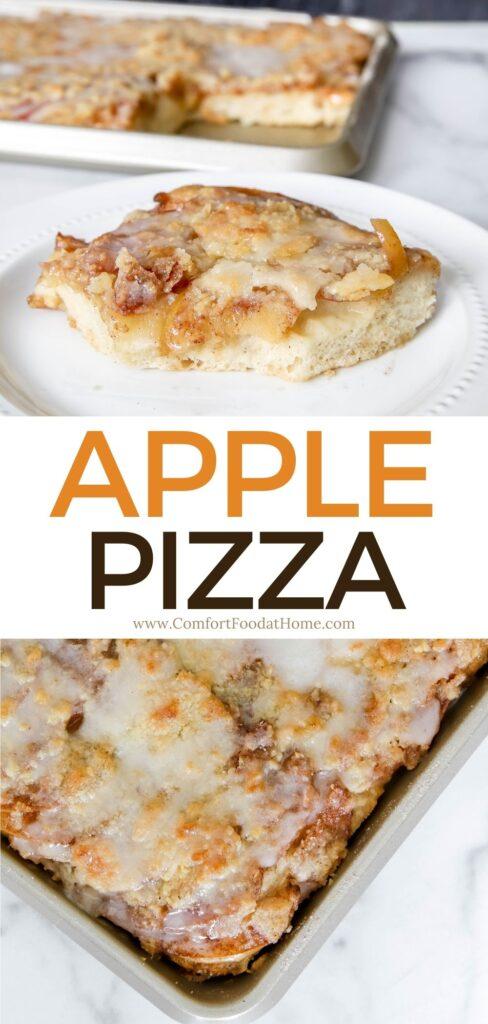 Crisp Apple Pizza