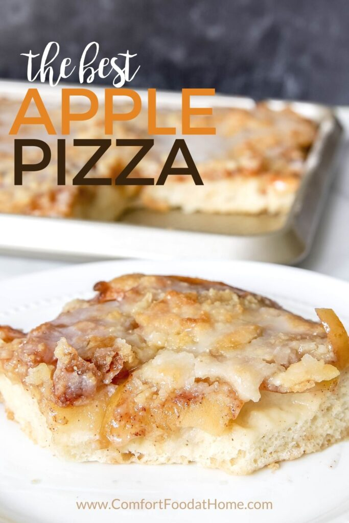 Crisp Apple Pizza Recipe