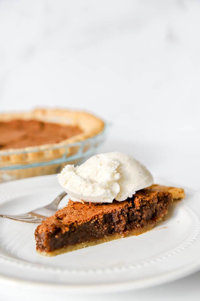 Delicious Fudge Pie