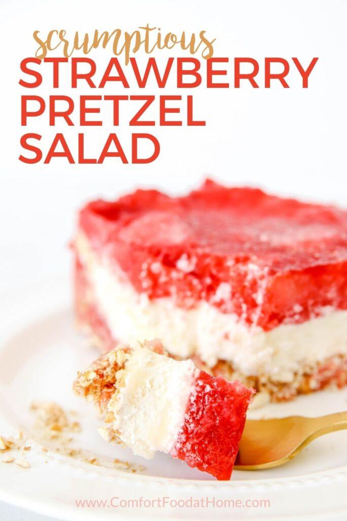Grandma's Strawberry Pretzel Salad Recipe